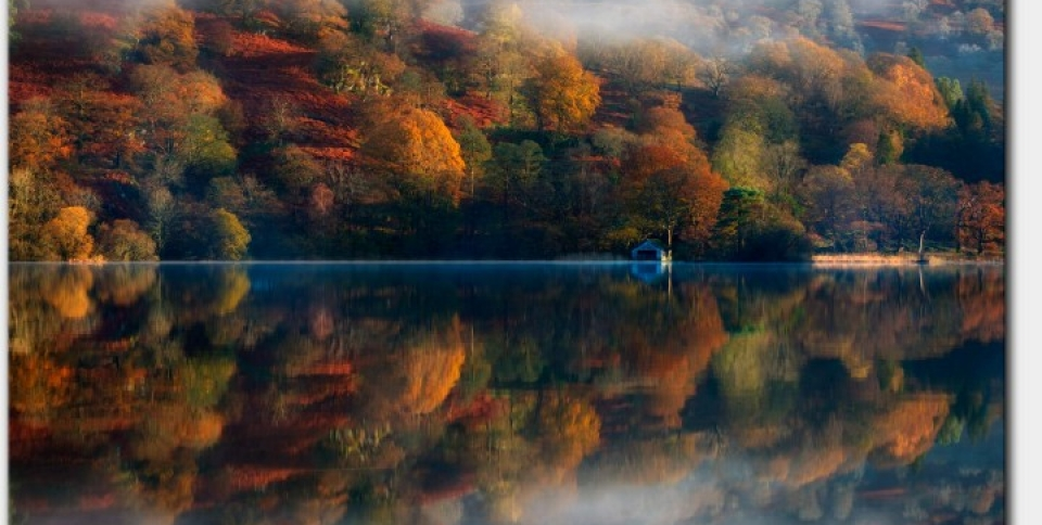 Autumn is spectacular in the Lake District, as shown here at Rydal