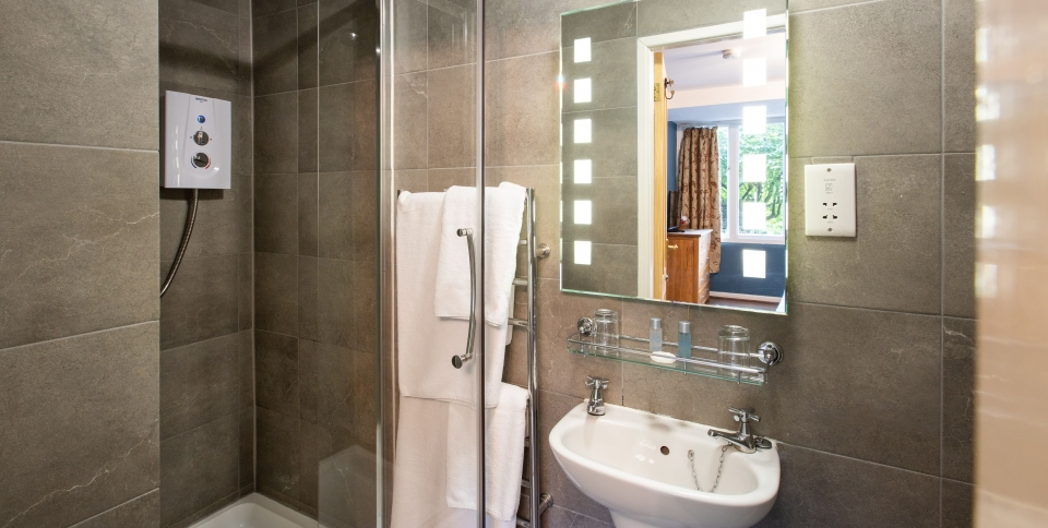 Smart but small ensuite